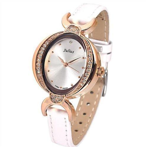 Đồng hồ nữ đẹp Julius JA653 mặt ô van