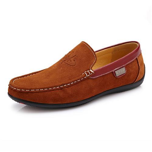 Giày lười nam da lộn CDD D533