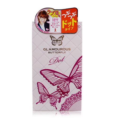 Bao cao su Jex Glamourous Butterfly Dot gai mịn