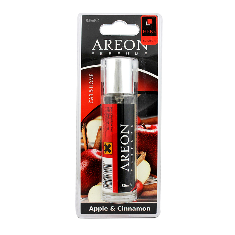 nước hoa ô tô Areon 35ml Blister Apple & Cinnamon