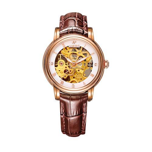Đồng hồ nữ dòng cơ automatic Aiers B202L