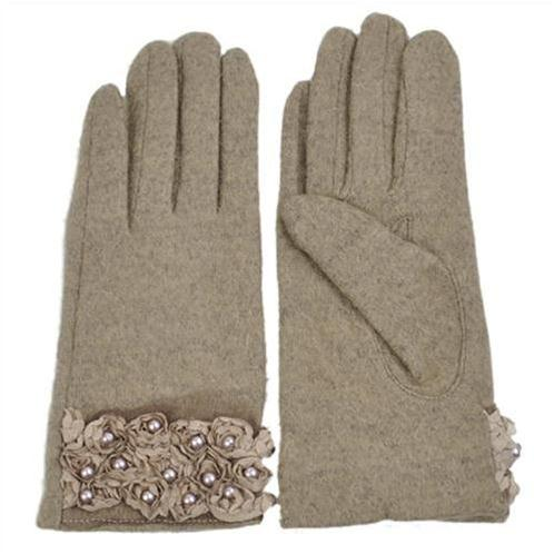 Găng tay hoa hồng đính ngọc trai Dorain
