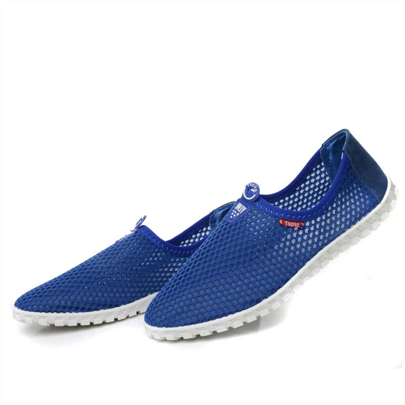 Giày casual nam vải lưới thời trang Wadnaso