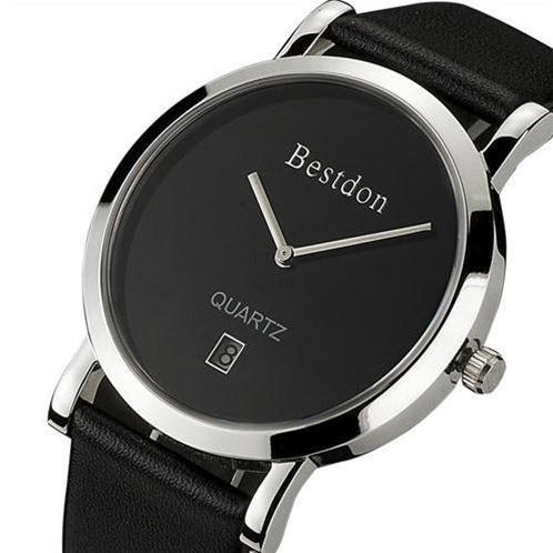 Đồng hồ nam siêu mỏng chính hãng Bestdon BD9951AG