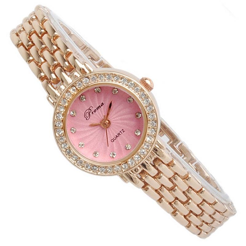 Đồng hồ nữ Prema đính pha lê Séc