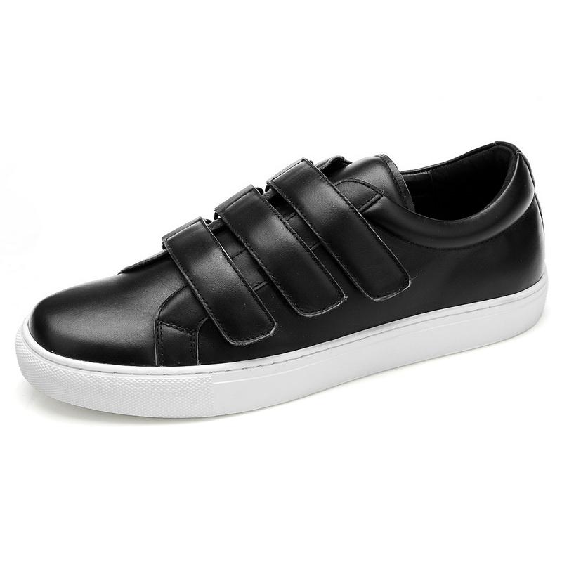 Giày lười nam Olunpo 3 quai dán