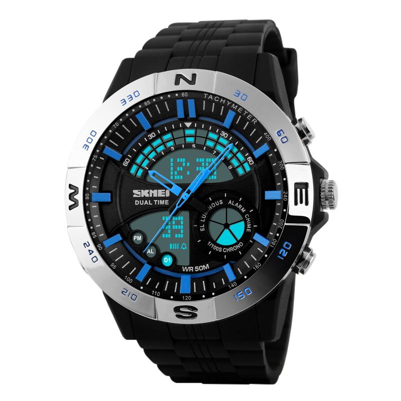 Đồng hồ điện tử nam dáng thể thao Skmei 1110