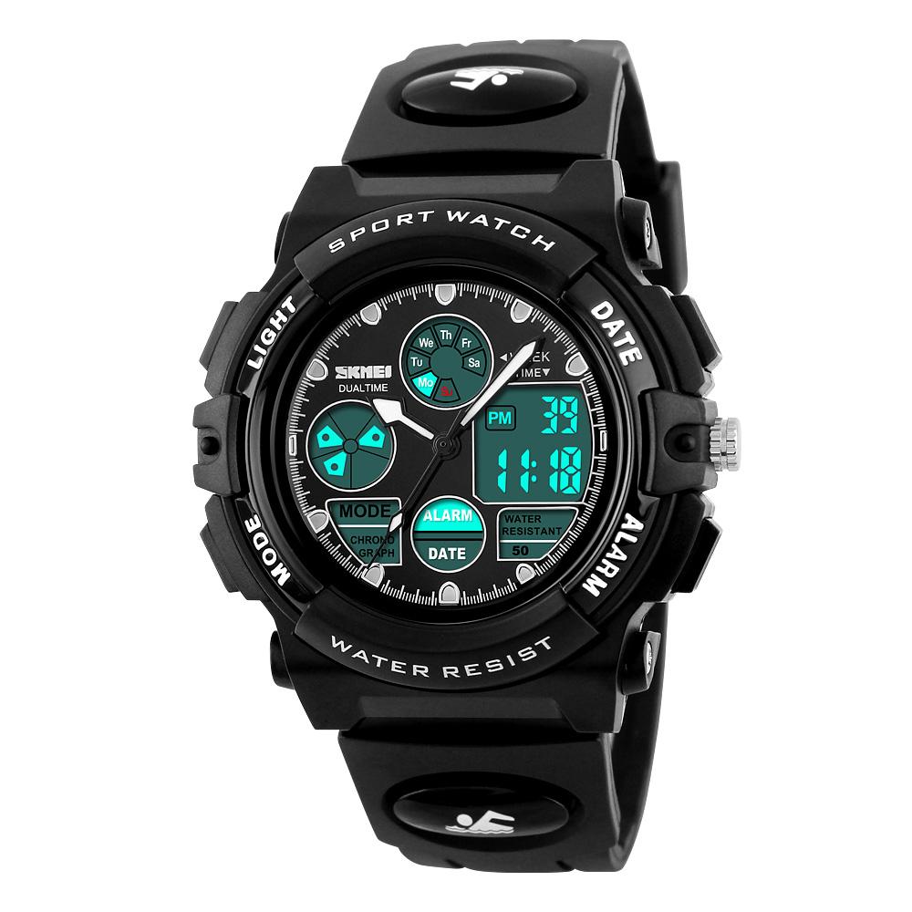 Đồng hồ điện tử thể thao nam Skmei Racing Watch
