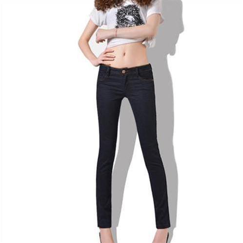 Quần Jeans nữ Bulkish ống bút chì thiết kế hiện đại trẻ trung