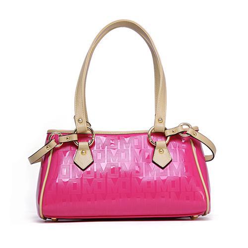 Túi xách da nữ Marino Orlandi 7141137 Họa tiết chữ thời trang