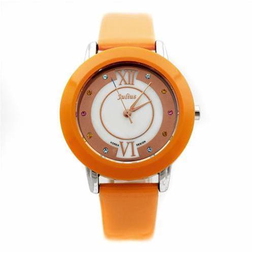 Đồng hồ nữ Julius JA-674 viền to bản
