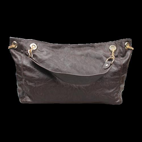 Túi da nữ quai xích đẹp Styluk LEO122PU