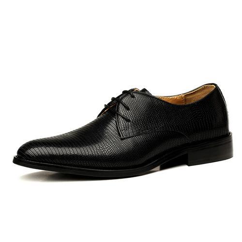 Giày da nam VANGOSEDUN Y1039 dây tròn