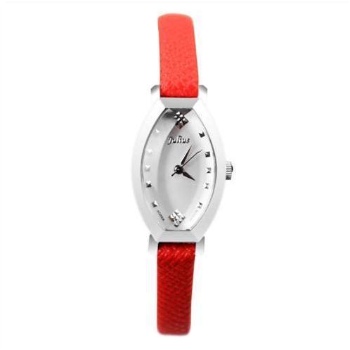 Đồng hồ nữ Julius JA652 mặt ovan trẻ trung
