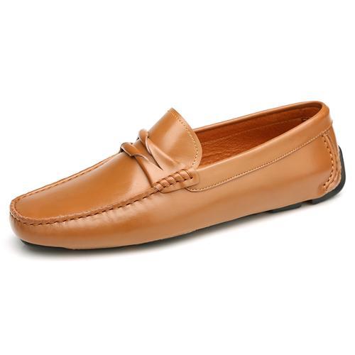 Giày lười nam thời trang Olunpo CHT1501 độc đáo