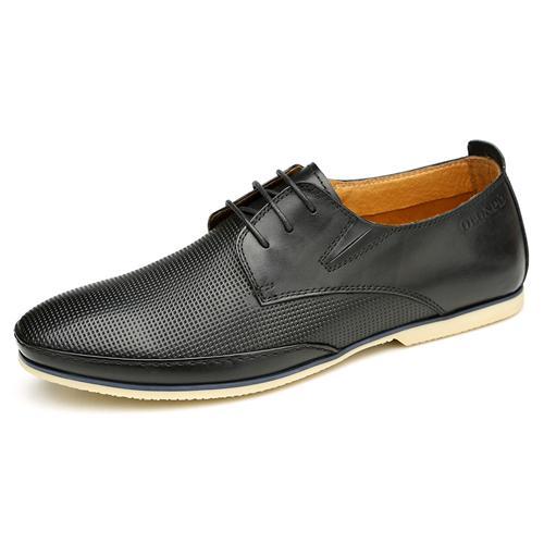Giày da nam buộc dây Olunpo CHF1501 đẹp