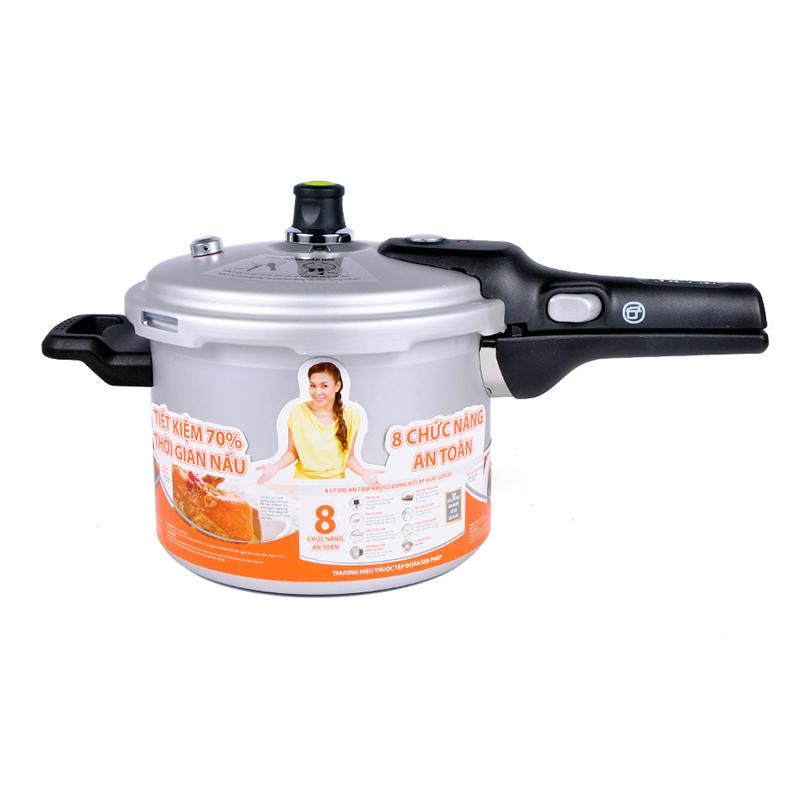 Nồi áp suất cao cấp YH24N1IH (Dùng được trên bếp điện từ - Tặng vỉ hấp)