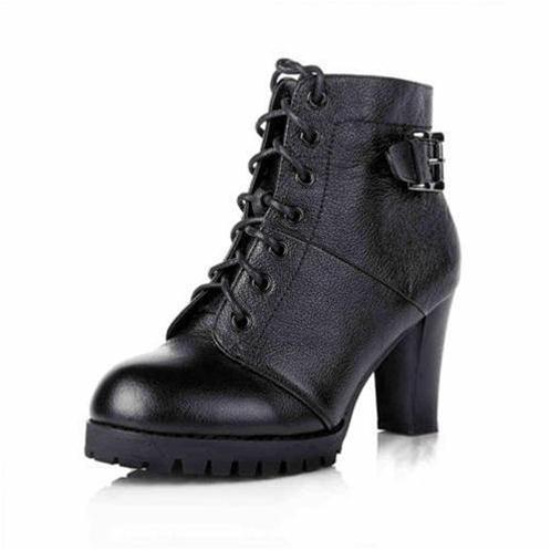 Giày da cao gót nữ YiYa YY1297-6