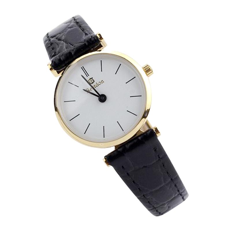 Đồng hồ nữ siêu mỏng Bestdon dây da thật