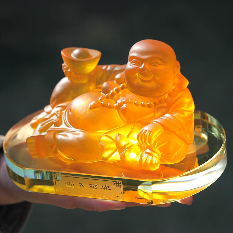 Nước hoa ô tô tượng Phật Di lặc phúc thần lộc Kanoch