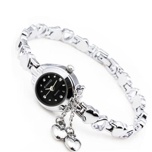 Đồng hồ KIMIO vòng tay mặt tròn Phong Cách Hàn Quốc