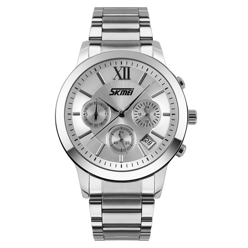 Đồng hồ thời trang nam sáu kim Skmei chống xước 9097