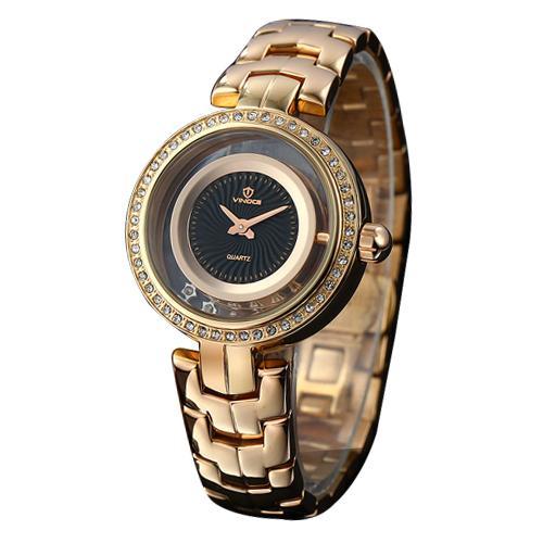 Đồng hồ nữ đính pha lê Vinoce 8377 sang trọng
