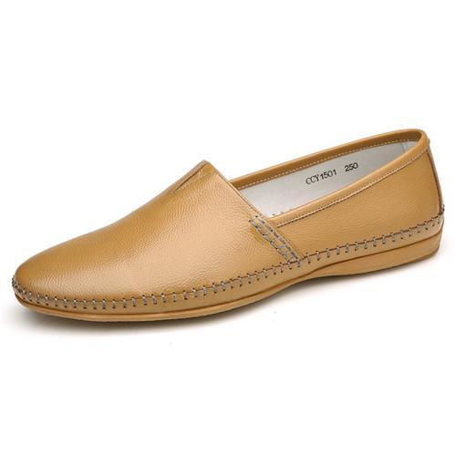 Giày lười nam viền khâu Olunpo CCY1501 cao cấp