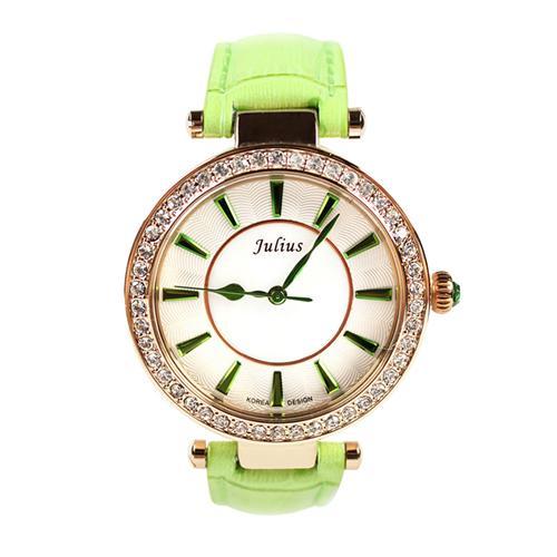 Đồng hồ nữ Julius _korea JA-797 viền đá