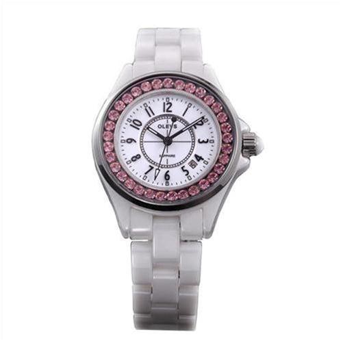 Đồng hồ nữ OLEVS Hồng Ngọc L54