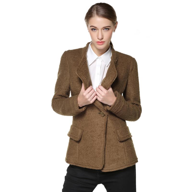 Áo vest dạ nữ dài tay Mymo