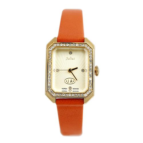 Đồng hồ Julius nữ mặt chữ nhật JA-824B
