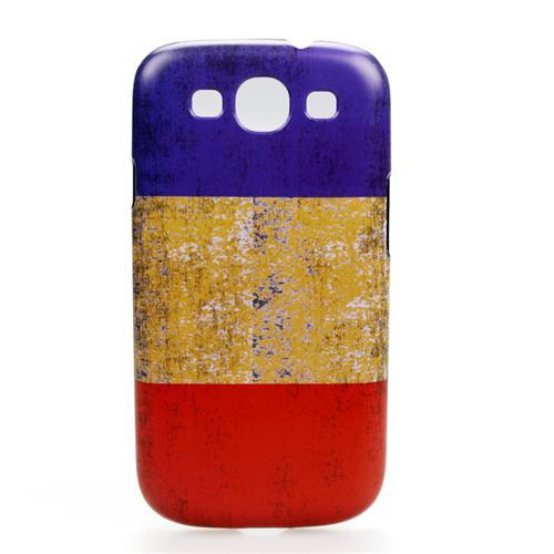 Ốp lưng samsung Galaxy SIII quốc kỳ Romania