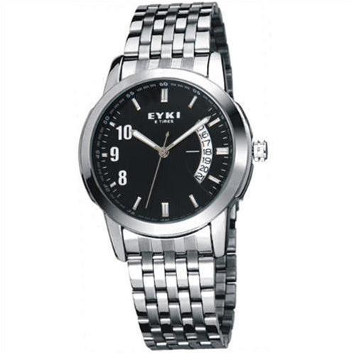 Đồng hồ nam EYKI 8408AG (Đen dây kim loại (N3))-EY0001-3