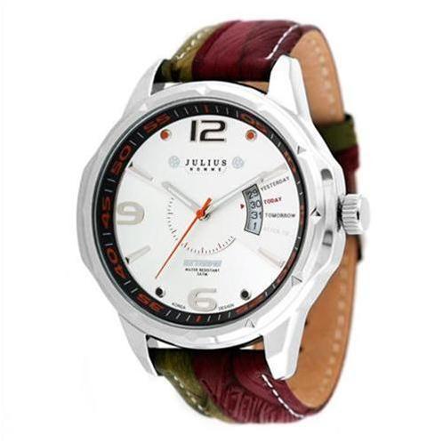Đồng hồ thời trang Julius JAH033 dây da màu sắc