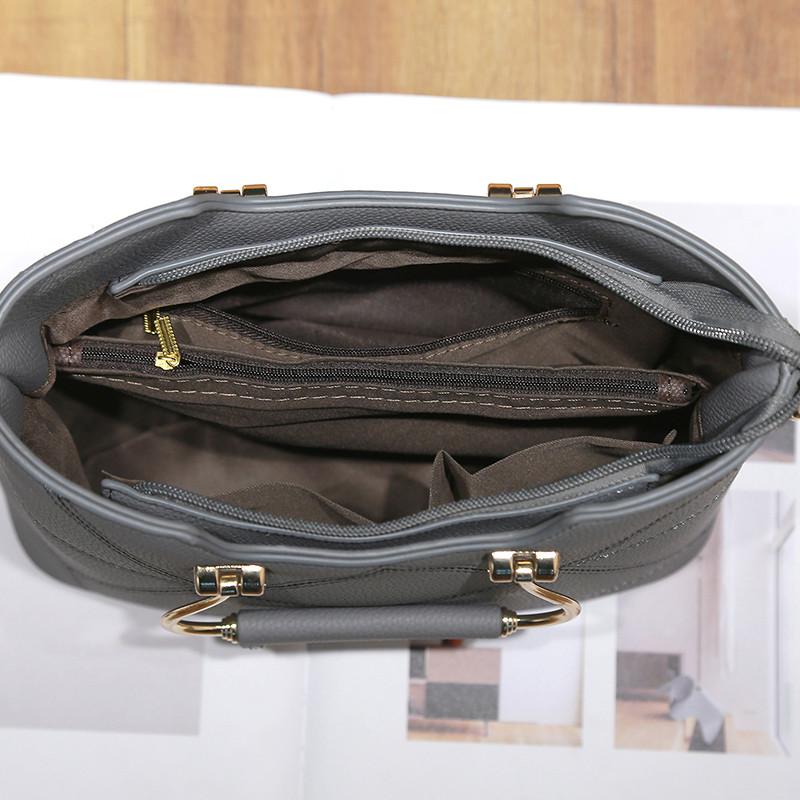 Túi frame nữ vân hình học Balana
