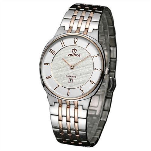 Đồng hồ thời trang nam mặt tròn Vinoce V6012