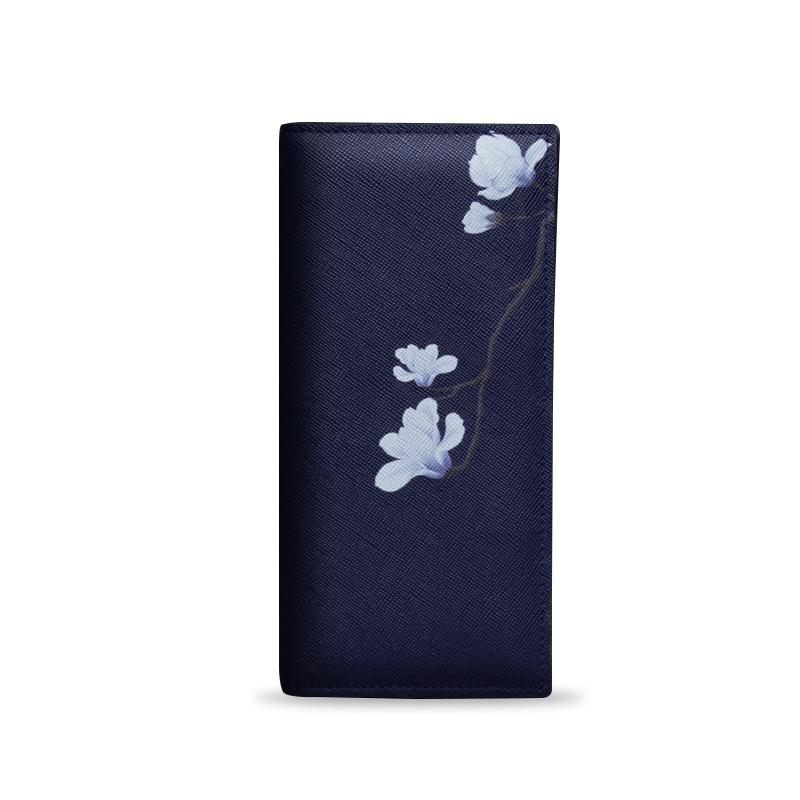 Ví nữ họa tiết hoa mộc lan PMSIX