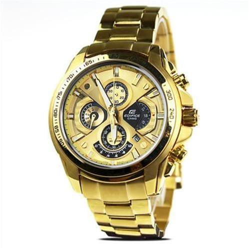 Đồng hồ nam Casio dòng EF-560FG-GOLD