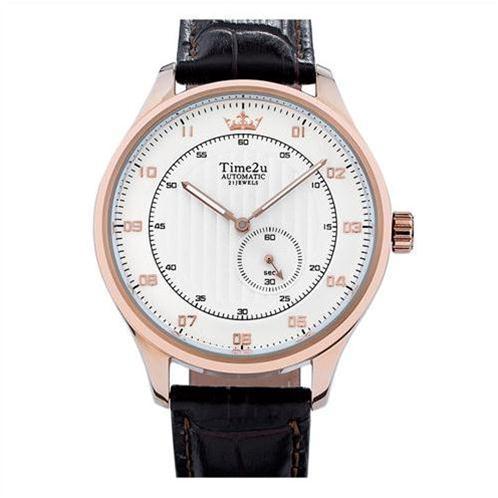 Đồng hồ nam thời trang Time2U automatic dây da