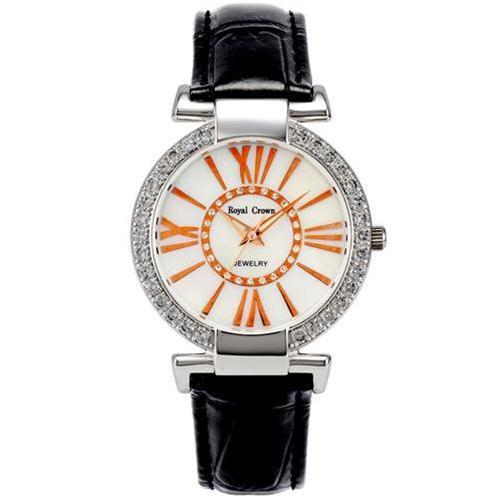 Đồng hồ nữ thời trang Royal Crown dây da màu sắc