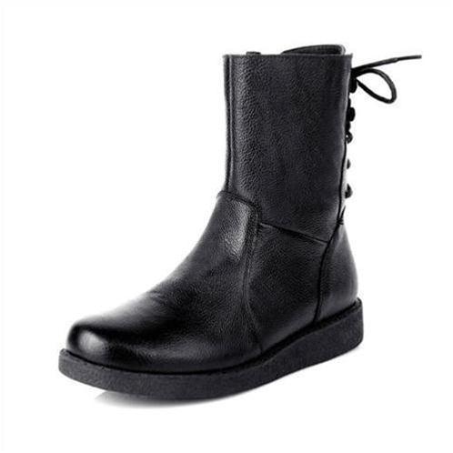 Giày bốt nữ thời trang YiYa YY1-9733