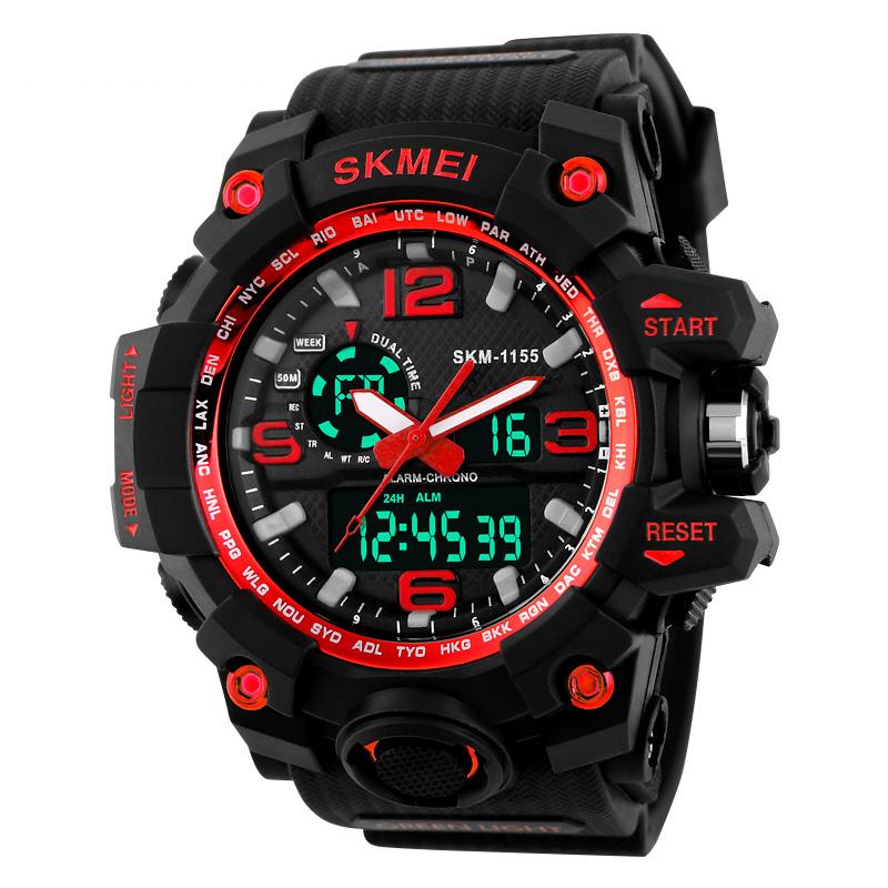 Đồng hồ điện tử thể thao Skmei phối màu