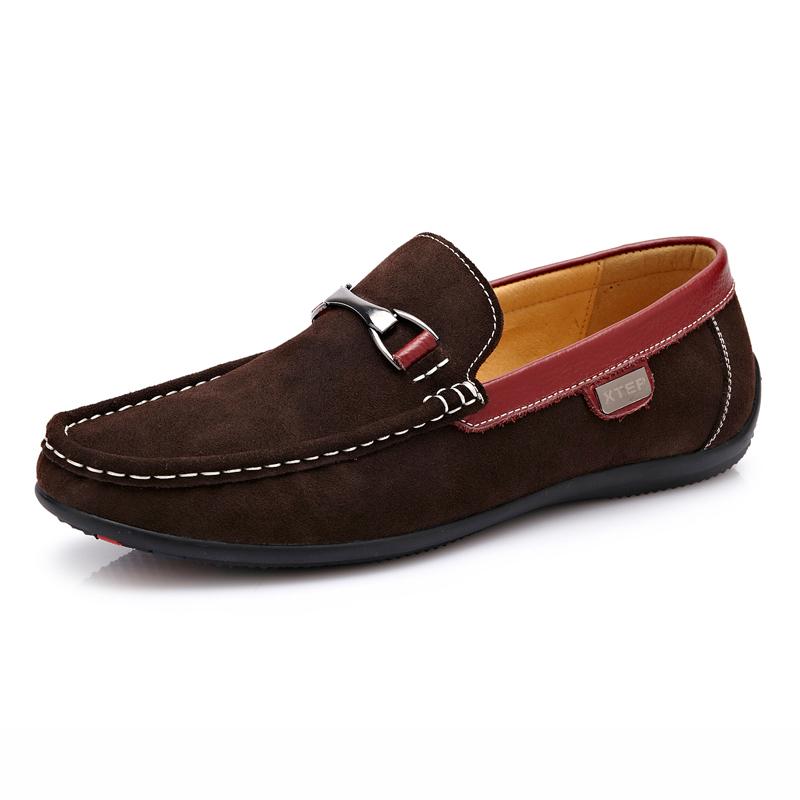 Giày lười da lộn nam CDD D531