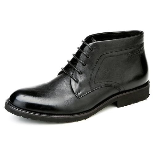 Giày boot nam Olunpo DHT1437 mũi giày nổi bật