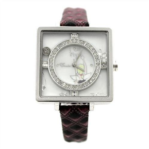 Đồng hồ nữ Hàn Quốc mặt vuông Julius EK-1004
