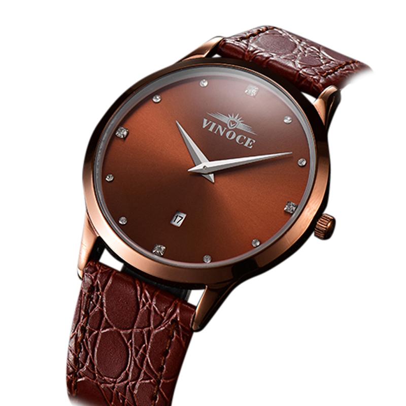 Đồng hồ nam Vinoce phong cách doanh nhân