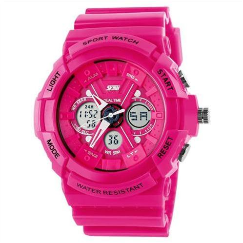 Đồng hồ thời trang Skmei SK - 0966 hai trong một