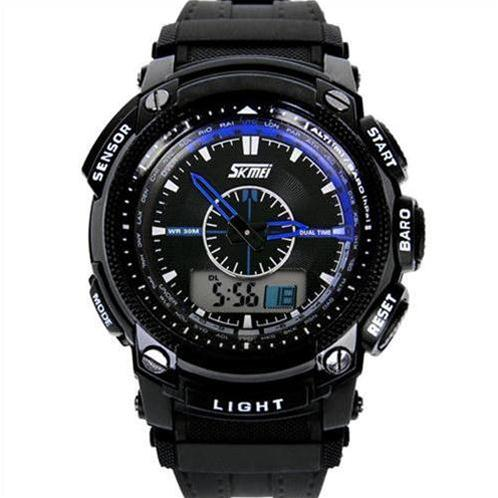 Đồng hồ nam đèn LED Skmei SK-0910 cao cấp