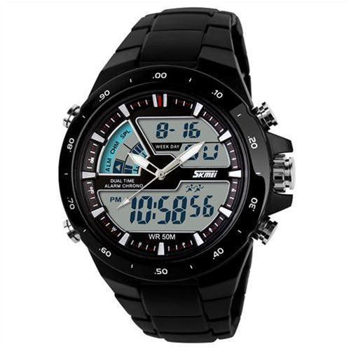 Đồng hồ điện tử Skmei 1016 mạ kim sành điệu
